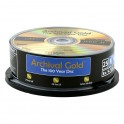 25 DVD-R Archival Gold®